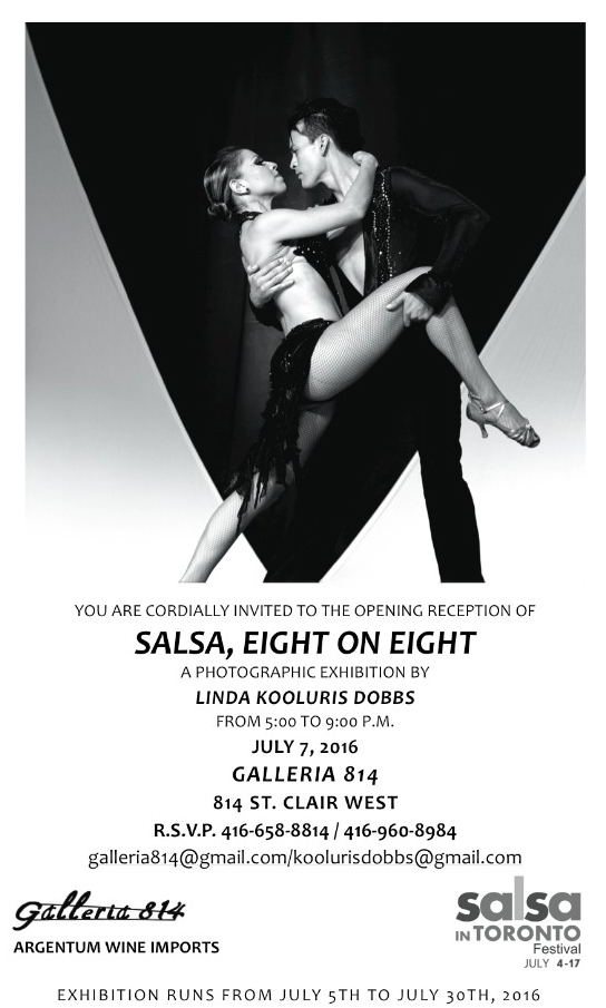 Salsa - Eight on Eight - A Photographic Exhibition by Linda Kooluris Dobbs